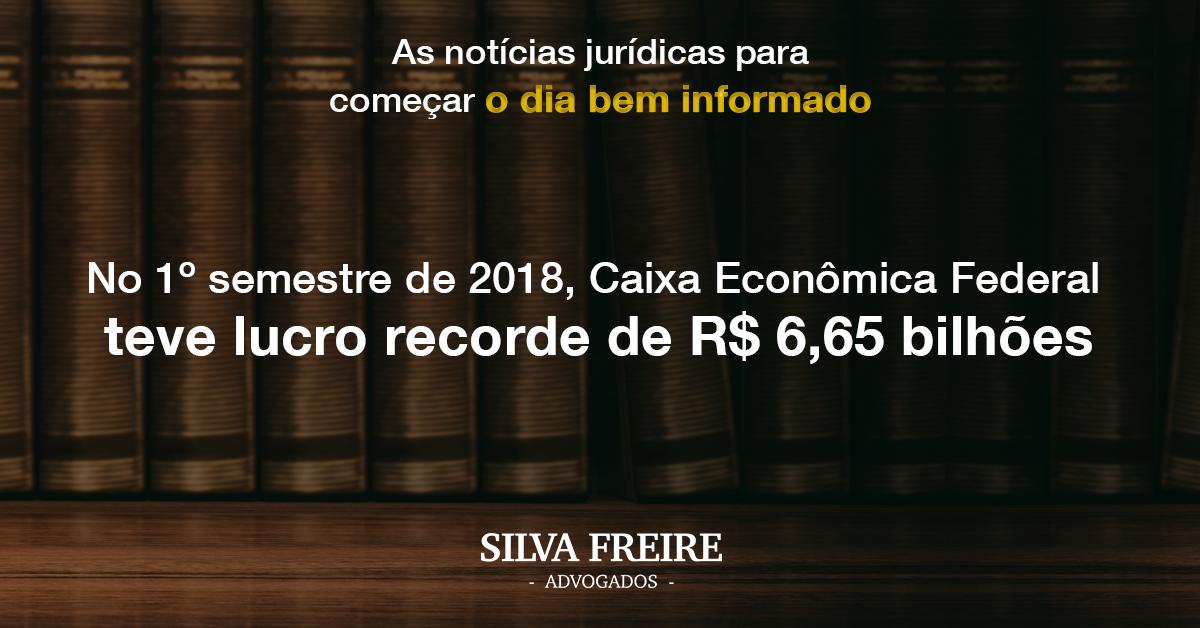 Caixa Econômica Federal teve lucro recorde