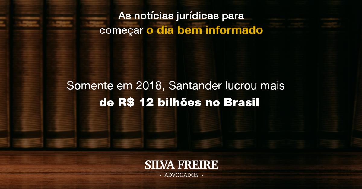 Lucro Santander 2018